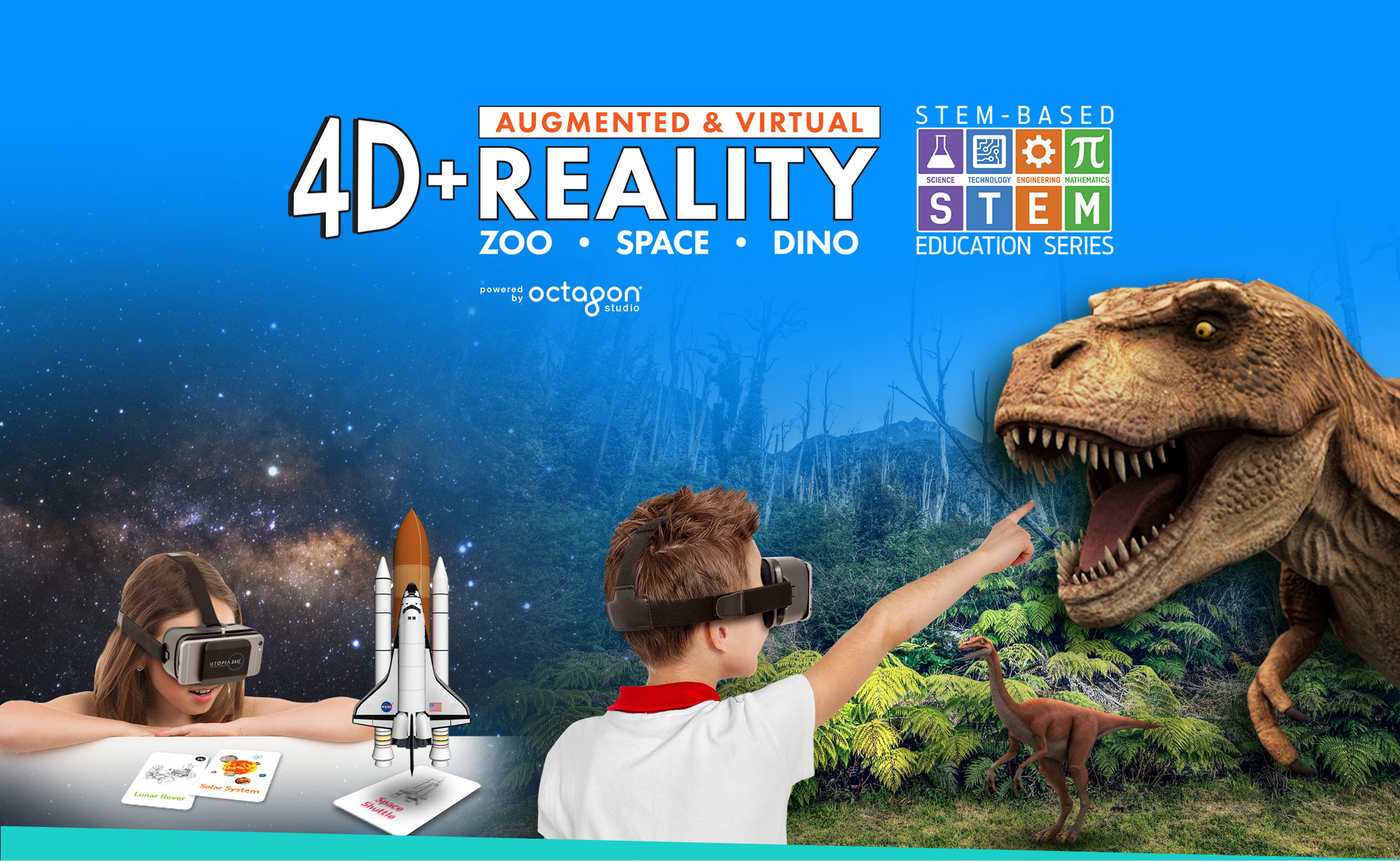 4D+ AR and VR Bundles